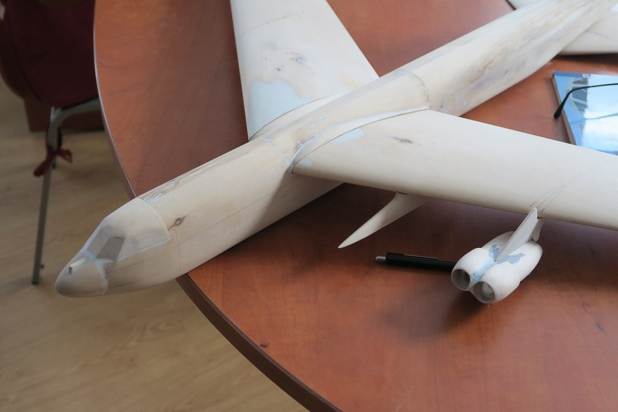 1 48 boeing b 52 stratofortress resin fiberglass kit by hph in