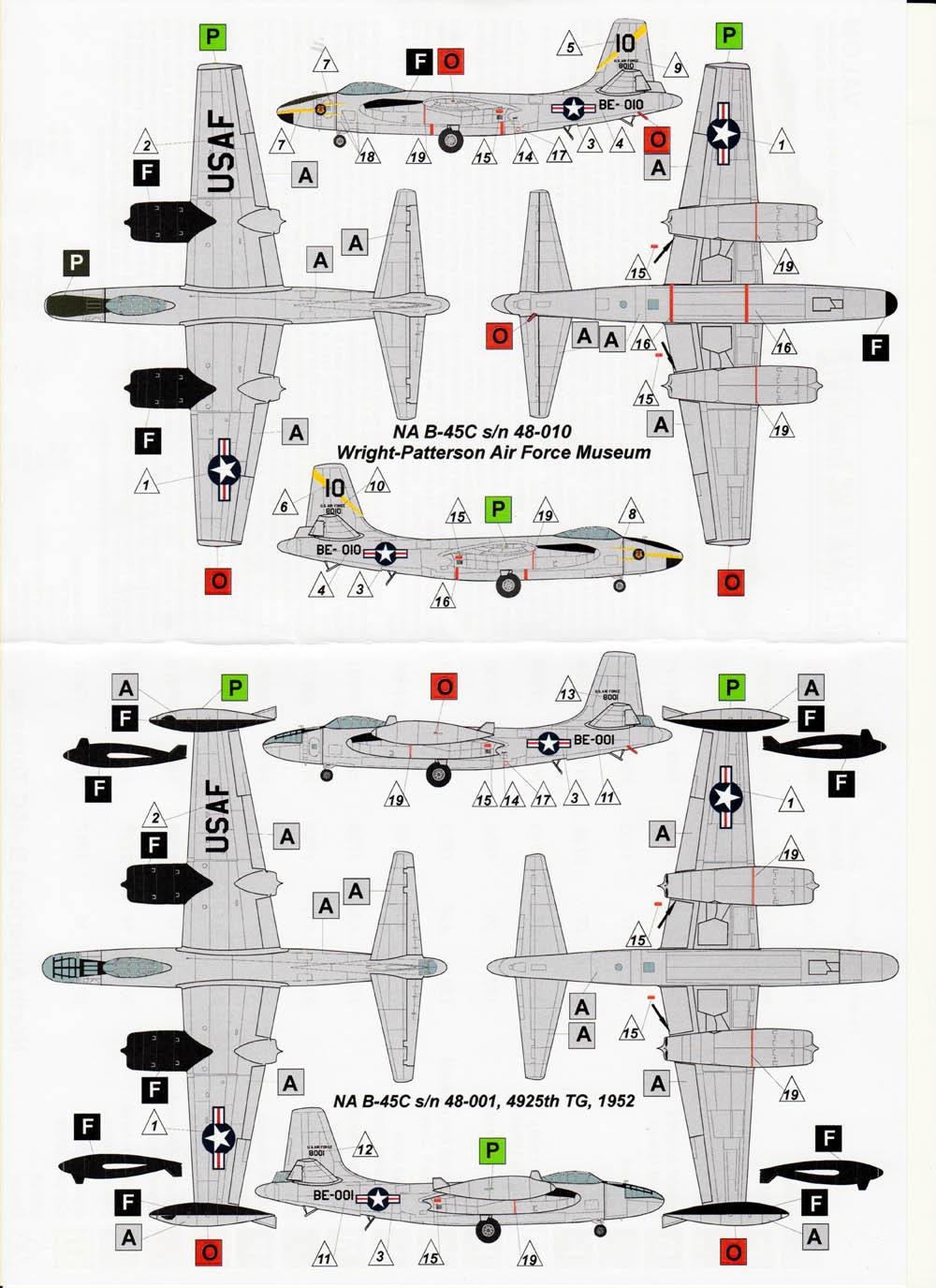 B-45 Tornado Valom